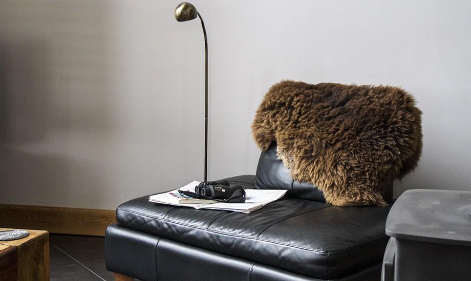 sheepskin-seat
