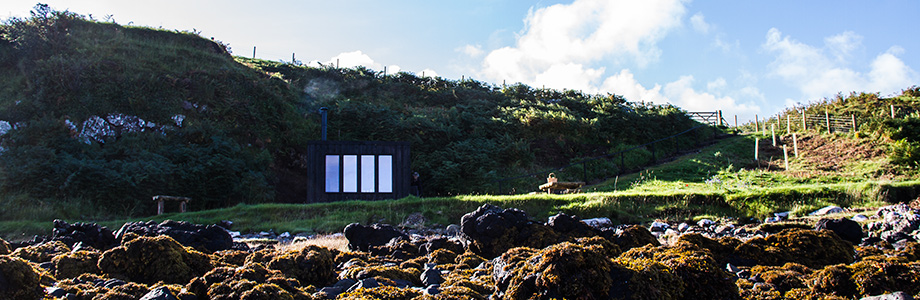 The Hide, coastal beach hut