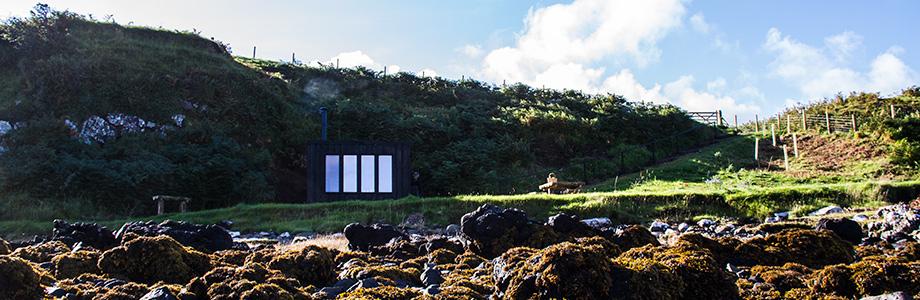 The Hide, coastal beach hut
